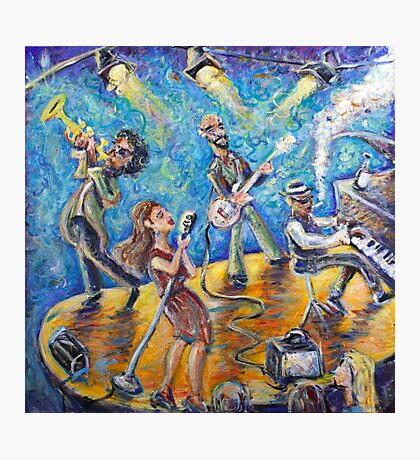 The Jazz Lounge Photographic Print
