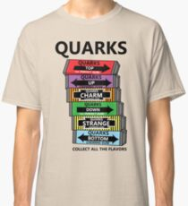 Quarks, can you collect all the flavors? Classic T-Shirt