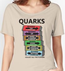 Quarks, can you collect all the flavors? Women's Relaxed Fit T-Shirt