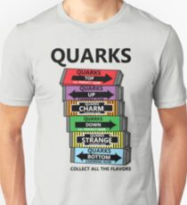 Quarks, can you collect all the flavors? T-Shirt