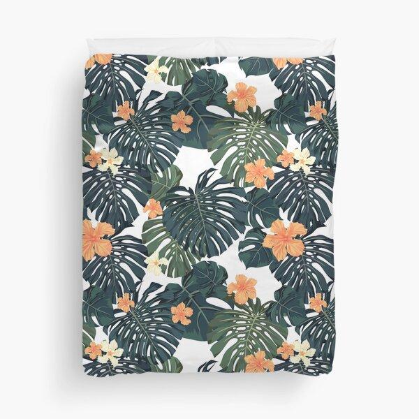 Tropical blossom Duvet Cover