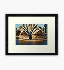 Sydney Harbour Opera House Framed Print