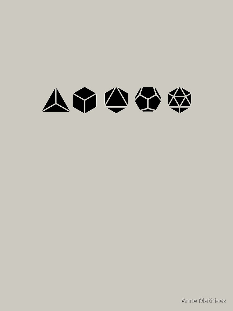 Platonic Solids - Building Blocks Of Life - Mathematics, Geometry by nitty-gritty
