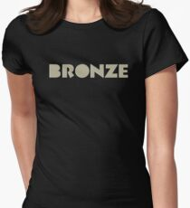 The Bronze Women's Fitted T-Shirt
