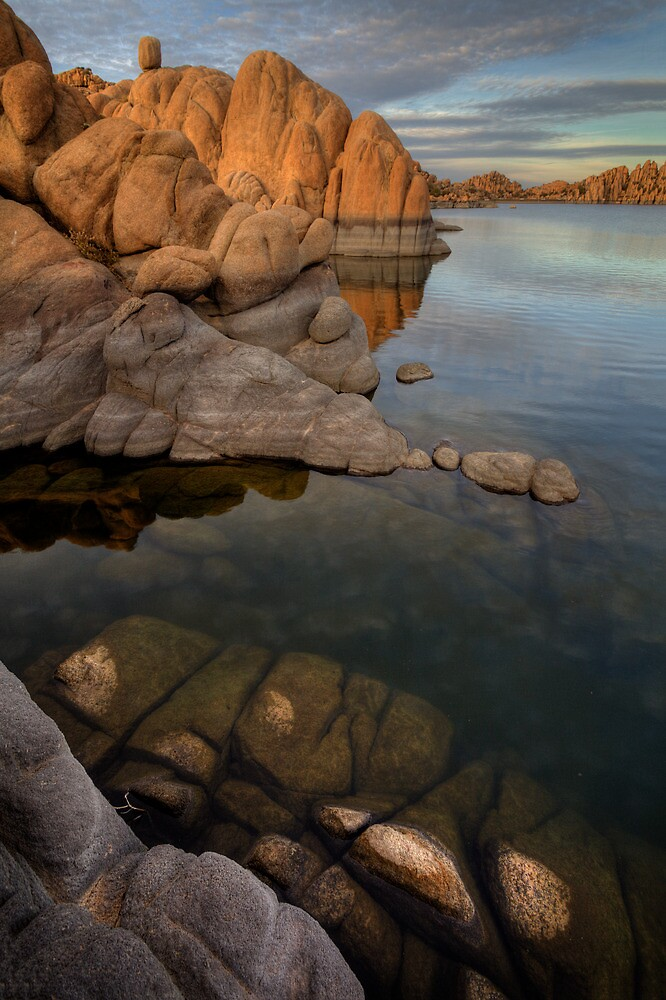 Granite Trickle by Bob Larson