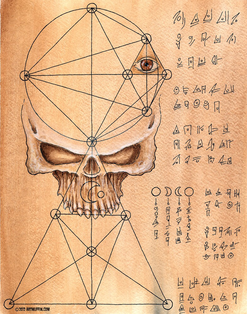 Skull for ceremony by ARTmuffin