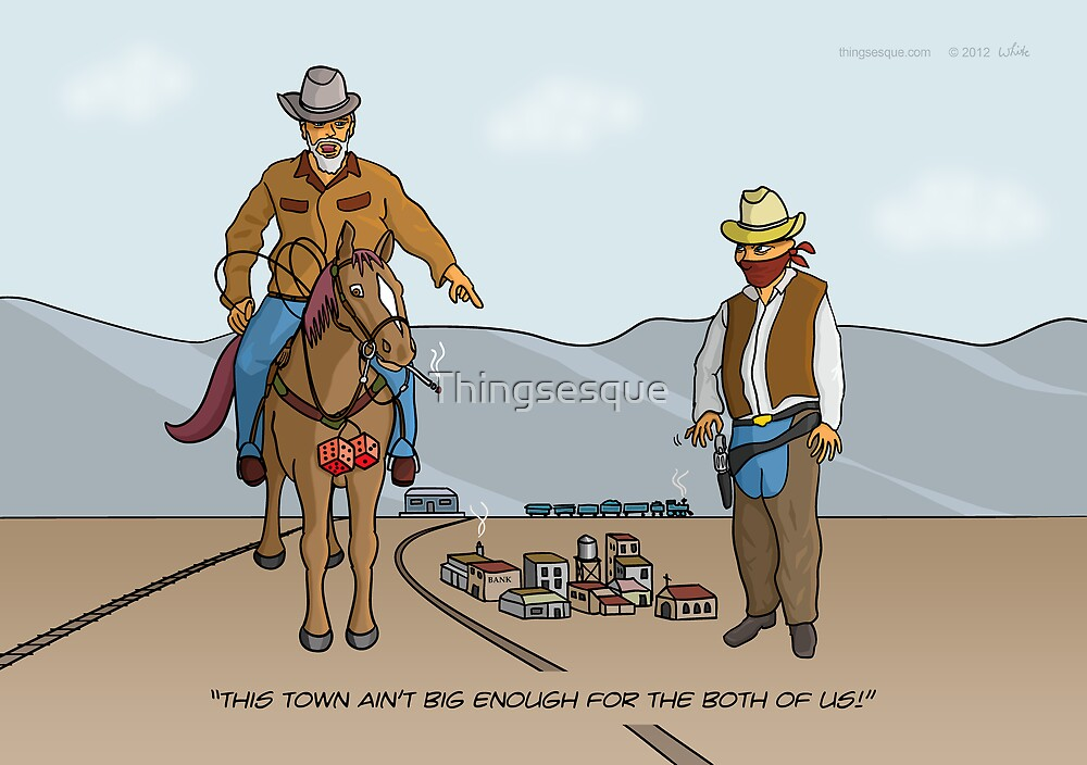 Small Town Cowboys by Thingsesque