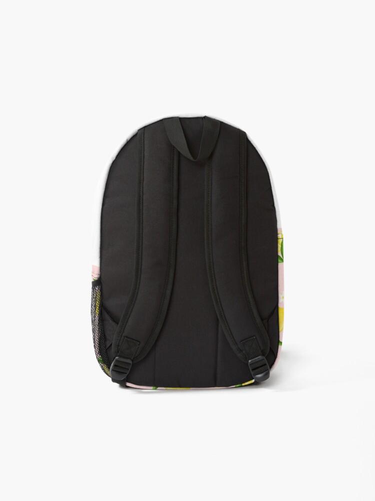 Alternate view of Summer Lemon Pattern Backpack
