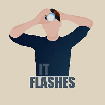 """It Flashes!"" Tom Hiddleston Head Torch by Nephie"