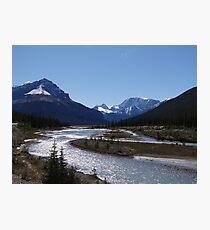 Ice Parkway Photographic Print