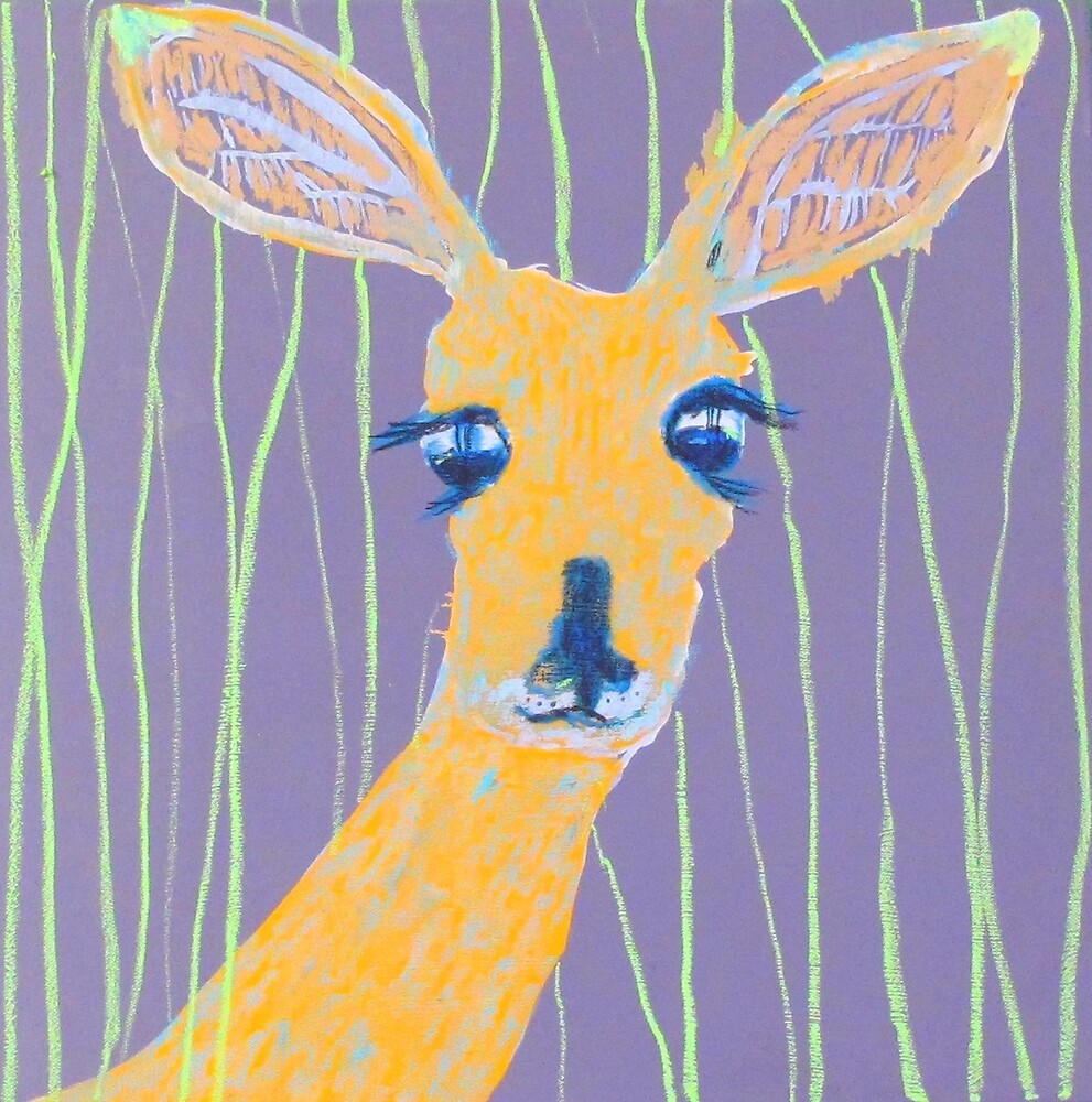 deer face by donna malone