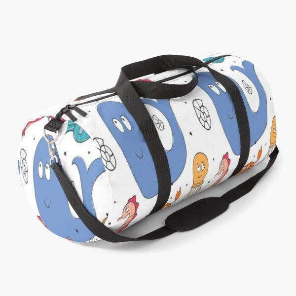 Marine Life for Kids Duffle Bag