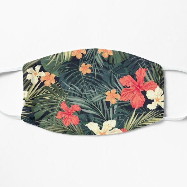 Jungle flowers Mask