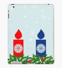 candle border iPad Case/Skin