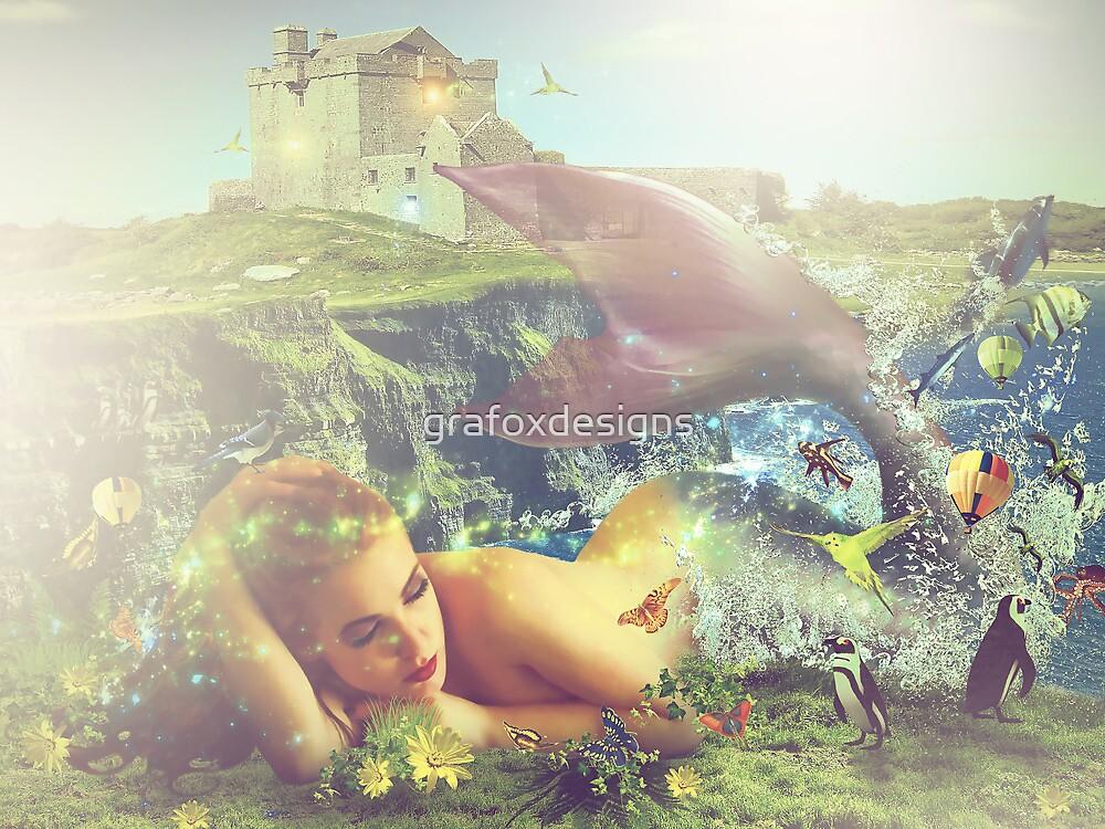 Mermaid by grafoxdesigns