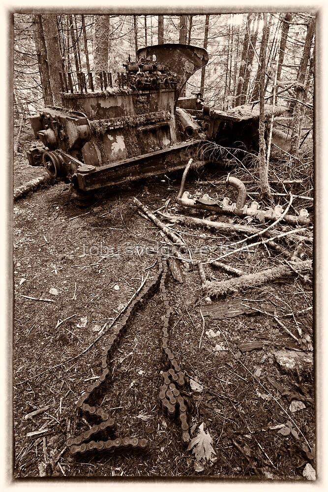 Bulldozer in the Woods by toby snelgrove  IPA