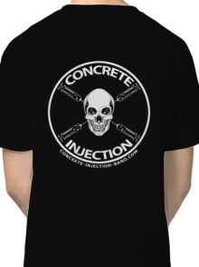 concrete injection skull logo Classic T-Shirt