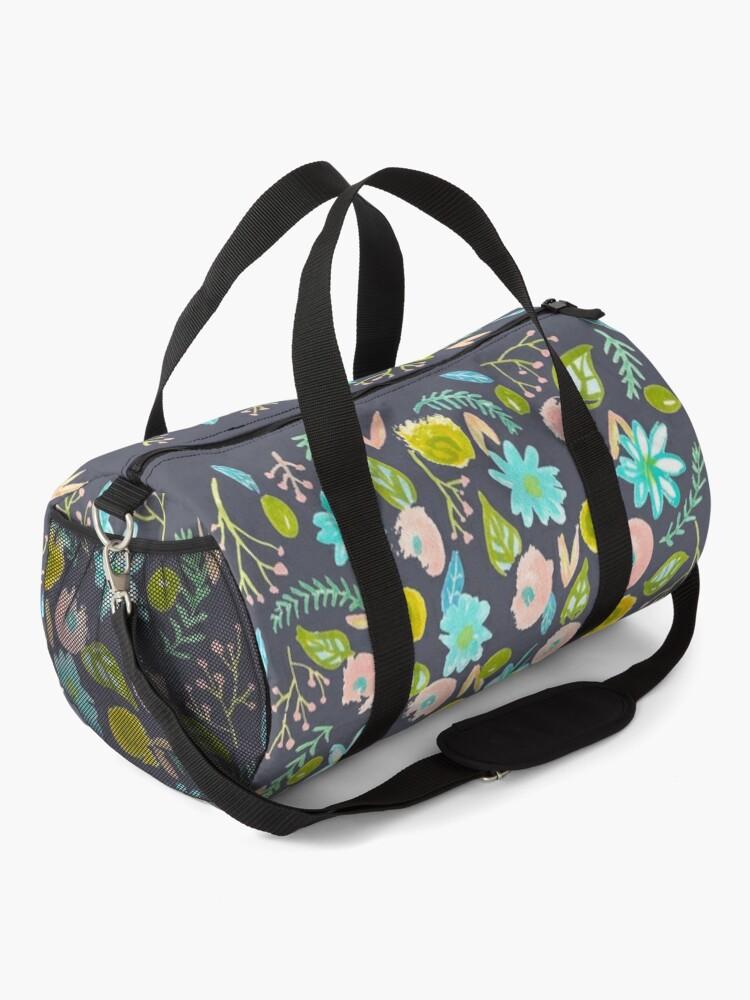 Alternate view of Spring Flowers Pattern Duffle Bag