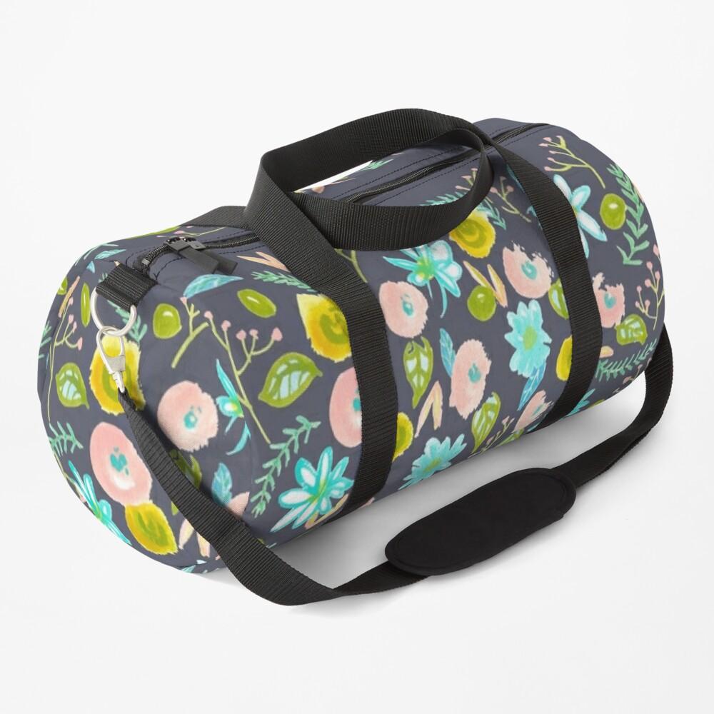 Spring Flowers Pattern Duffle Bag