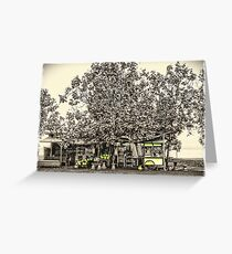 Pitstop Greeting Card