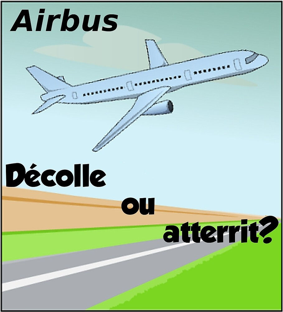 Airbus en décollage ou atterrissage? by Binary-Options