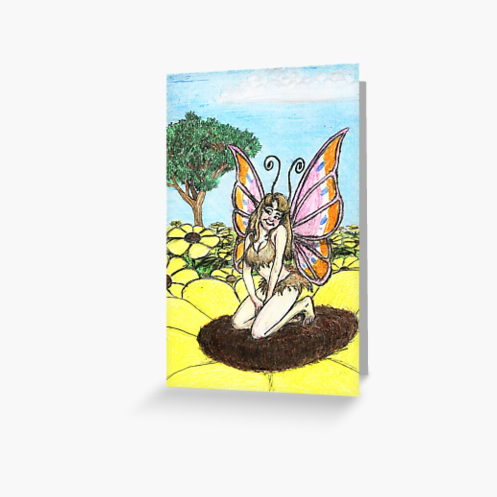 Brown Eyed Susan Greeting Card