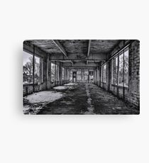 Abandonded and Empty Canvas Print