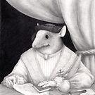 Portrait of A Renaissance Rat  by Nestor