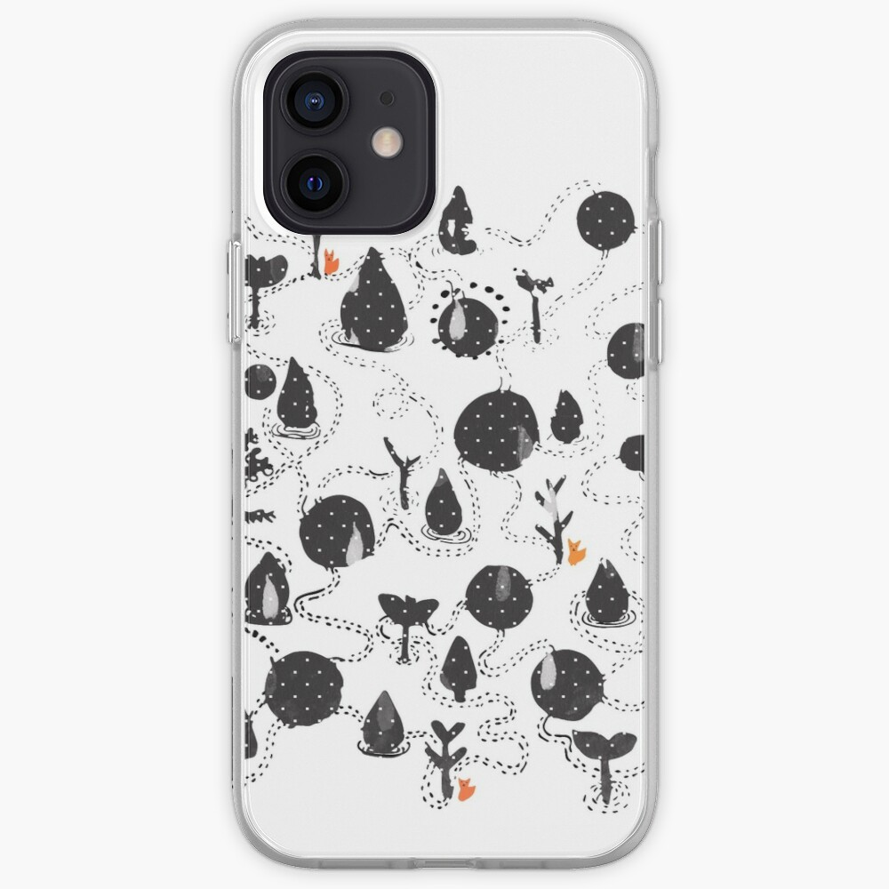 Foxes lost in the Wood iPhone Case & Cover