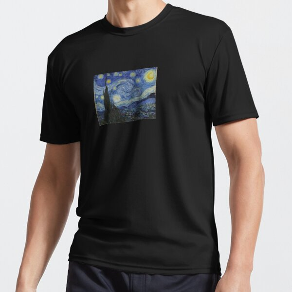 The Starry Night Active T-Shirt