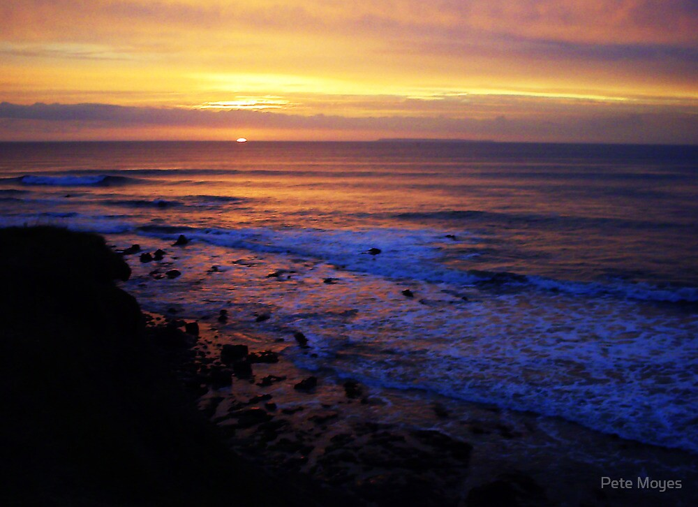 Headland sunset by Pete Moyes