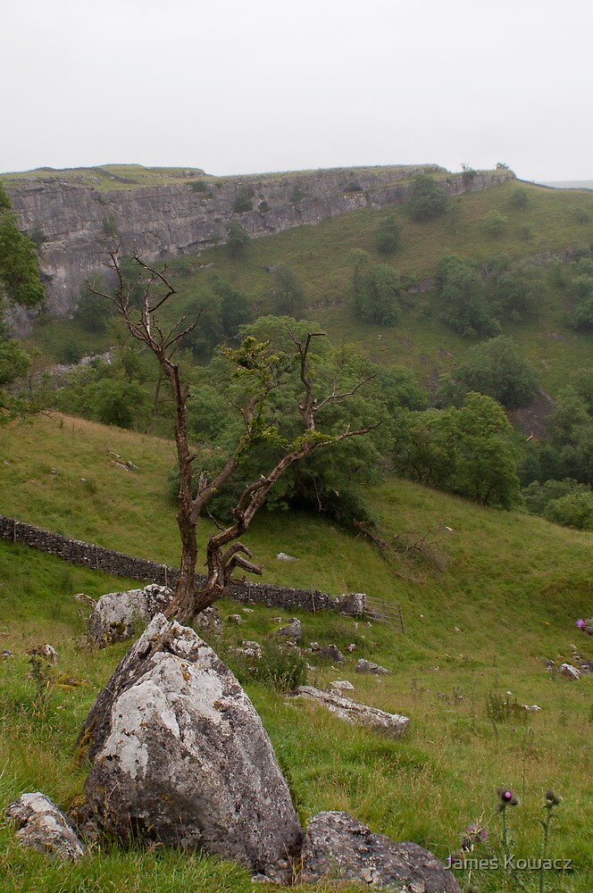 A View from Malham Cove by James Kowacz