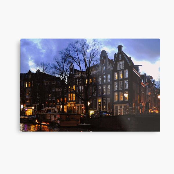 Twilight Amsterdam Metal Print