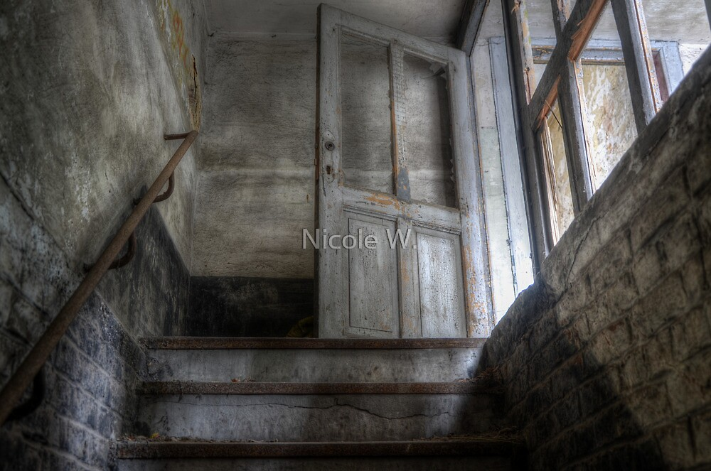 Let the ghosts out by Nicole W.