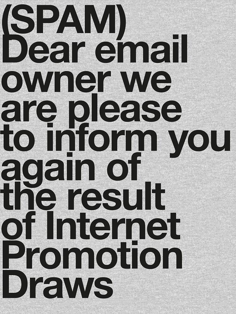 (Spam) Internet promotion draws! (Black type) by poprock