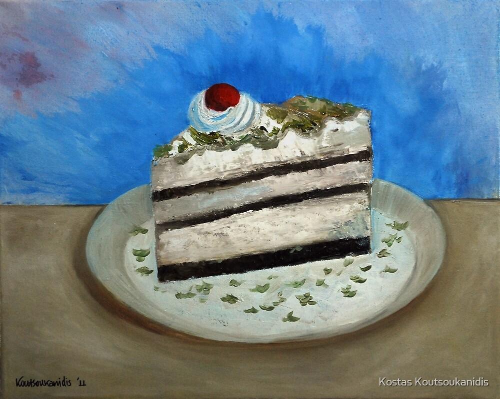 Almond Cake by Kostas Koutsoukanidis