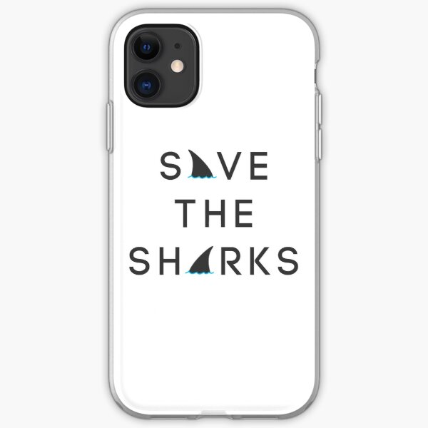 Save the Sharks iPhone Soft Case