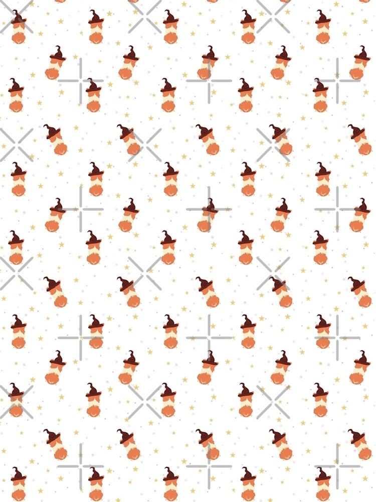 Corgi Wizard Pattern by chanzds