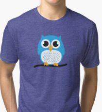Sweet & cute owl Tri-blend T-Shirt