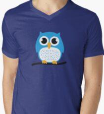 Sweet & cute owl Men's V-Neck T-Shirt