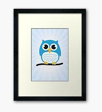 Sweet & cute owl Framed Print