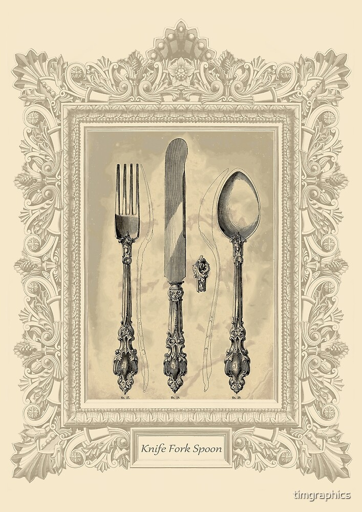 Knife Fork Spoon by timgraphics