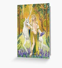 Malorie Mackey's Elven Princess Greeting Card