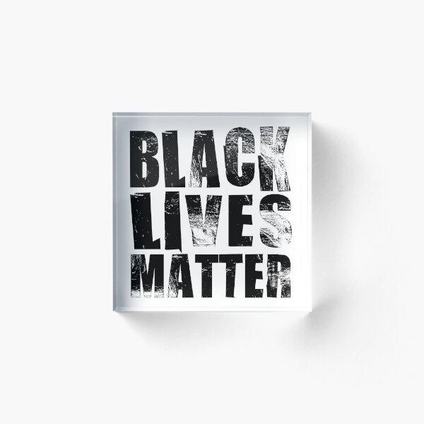 Black Lives Matter Acrylic Block