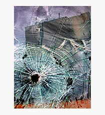 Bullet Hole Abstract Photographic Print