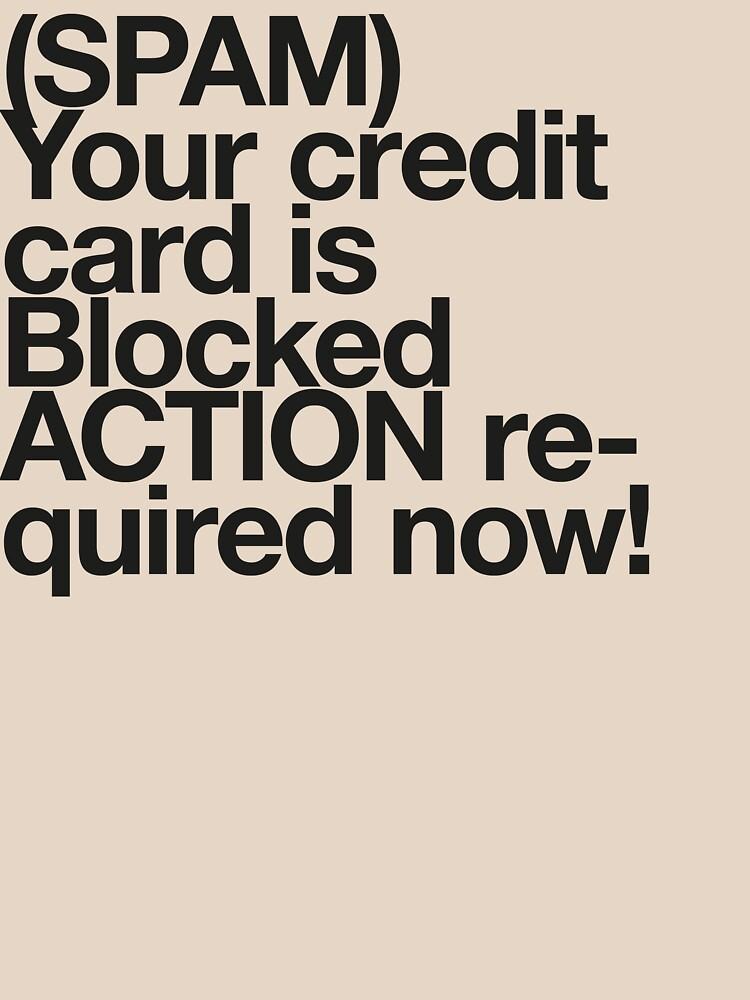 (Spam) Blocked! (Black type) by poprock