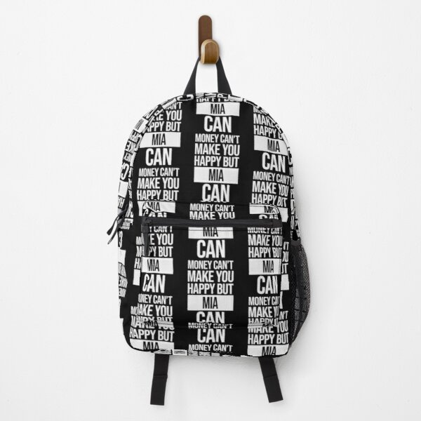 Mia Name -  Money Can't Make You Happy But Mia Can Gift For Mia Backpack
