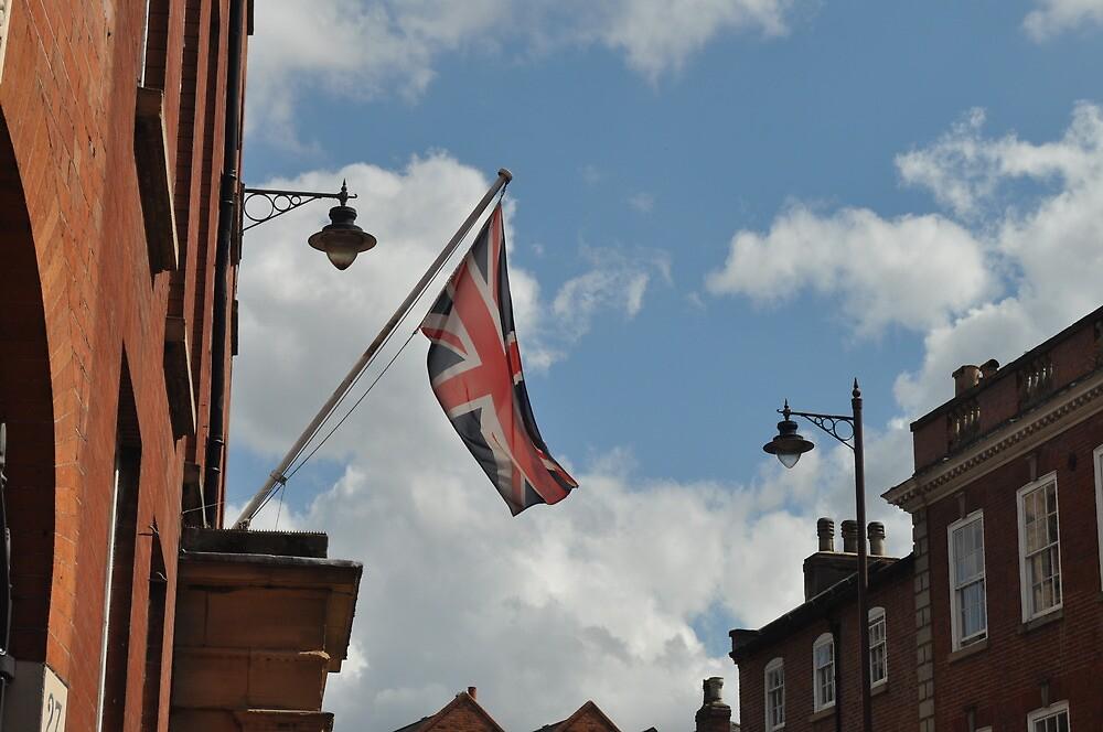 Union Jack in the Breeze by Fury Iowa-Jones