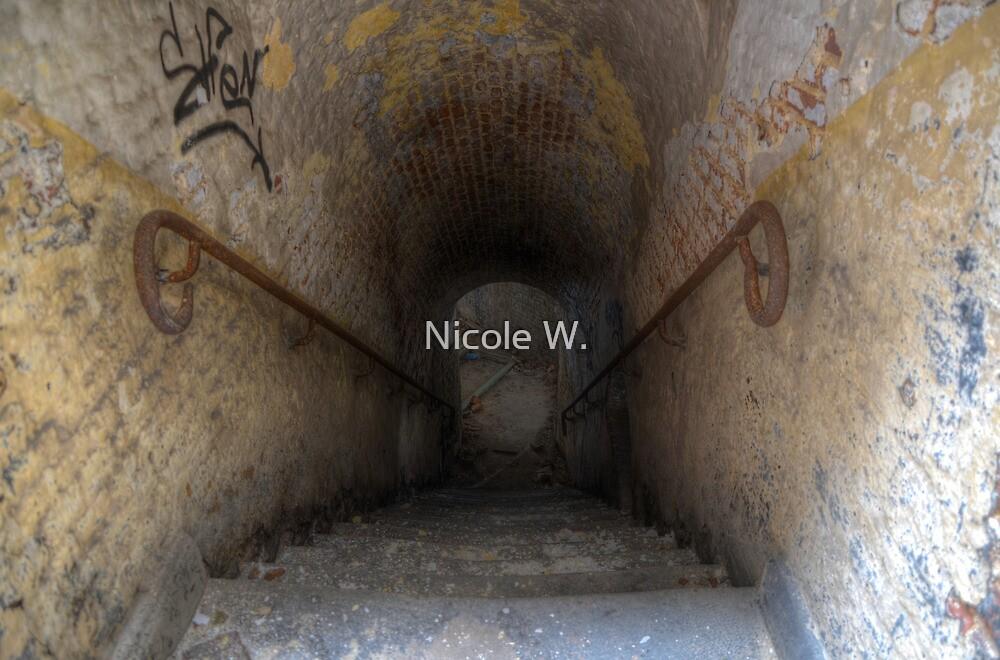 down into the dark by Nicole W.