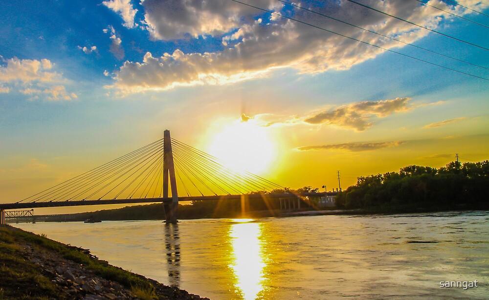 sunset by sanngat
